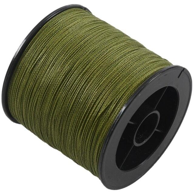 500 M 30 LB 0.26mm żyłka wytrzymałość PE pleciony 4 nici
