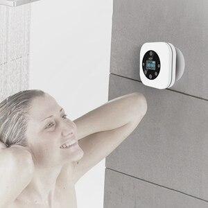 Image 3 - FFYY HOTT S603 Mini Tragbare Wasserdichte Drahtlose Bluetooth Lautsprecher Hände Freies FM Radio für Bad Weiß