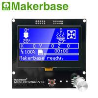 LCD 3D מדפסת התצוגה MKS LCD12864A / B אינטליגנטי התצוגה בקר LCD מודול לוח תואם Bigtree SKR V1.3 (2)