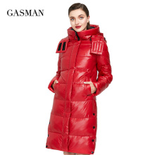 Thick Jacket Outwear Female Down-Parka Women's Coat Puffer Fashion High-Quality Hooded