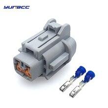 5sets 2pins 2.2mm plug Auto waterproof car electric connector Nissan fog lights 6185-0867