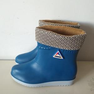 Image 2 - E TOY WORD ผู้หญิงรองเท้าบู๊ตยางรองเท้ากลางหลอดฝนรองเท้าผู้หญิงลื่นกันน้ำรองเท้ากลางแจ้งรองเท้าผู้หญิงฤดูหนาว
