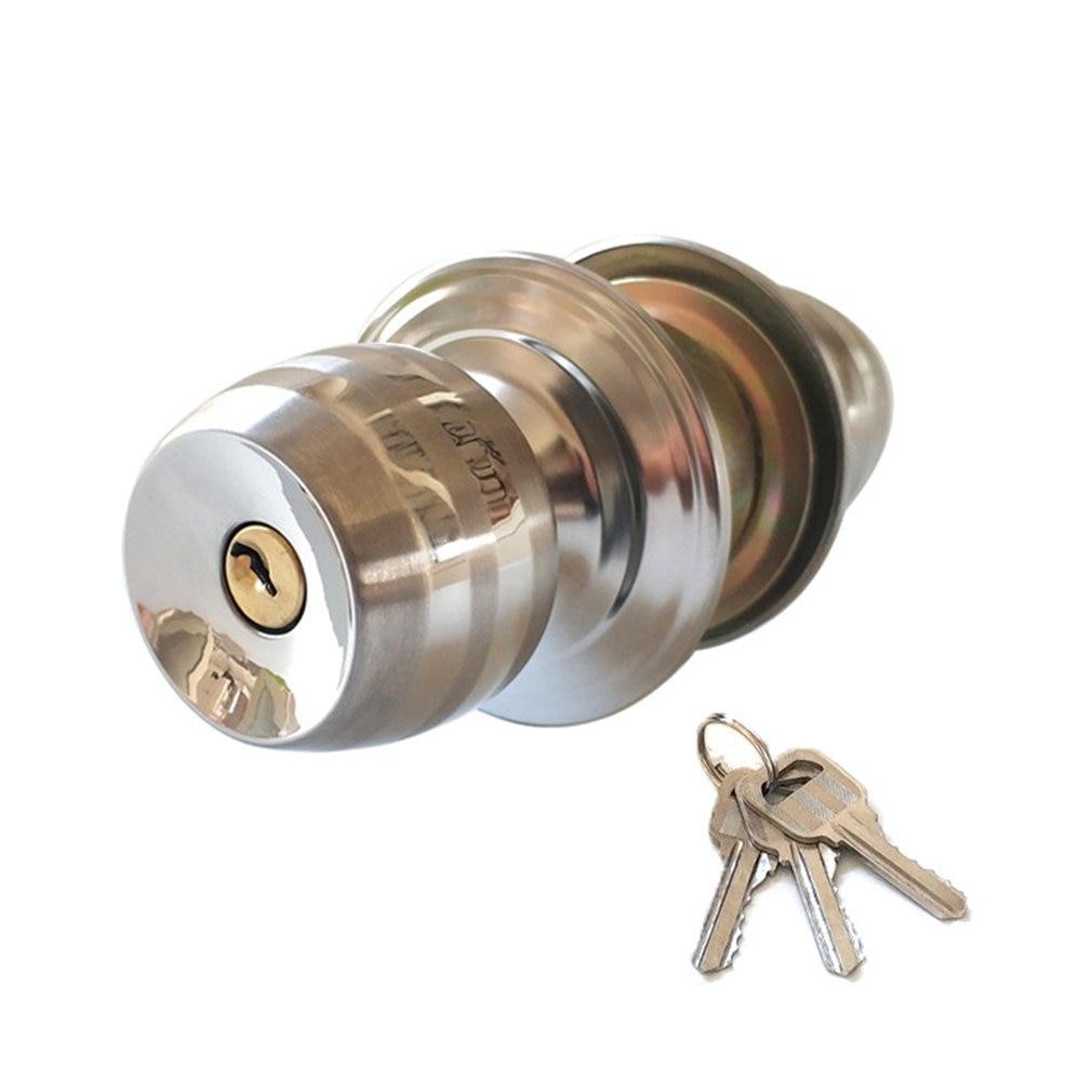 Interior Solid Bedroom Indoor Wooden Door Lock Mechanical Door Lock Door Lock With Key