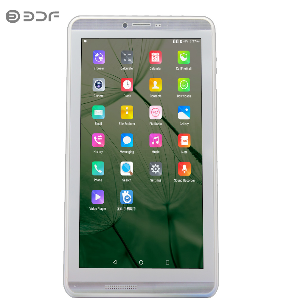 2019 New 7 Inch Android 6.0 Quad Core 1G RAM 16G ROM Tablet Pc 1024*600 LCD 3G Bluetooth WIFI Tablets Kids Tablet Free Shipping