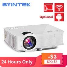 лучшая цена BYINTEK BT140 Home Theater fuLl HD 1080P portable Video LCD Digital HDMI Cinema USB 1900lumens 3D mini LED Projector Proyector