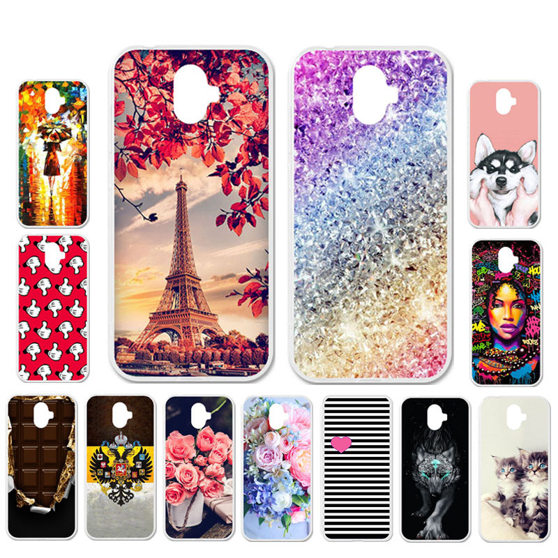 Ojeleye DIY Patterned Silicon Case For Ulefone S7 Case Soft TPU Cartoon Phone Cover For Ulefone S7 Pro Covers Anti-knock Shell