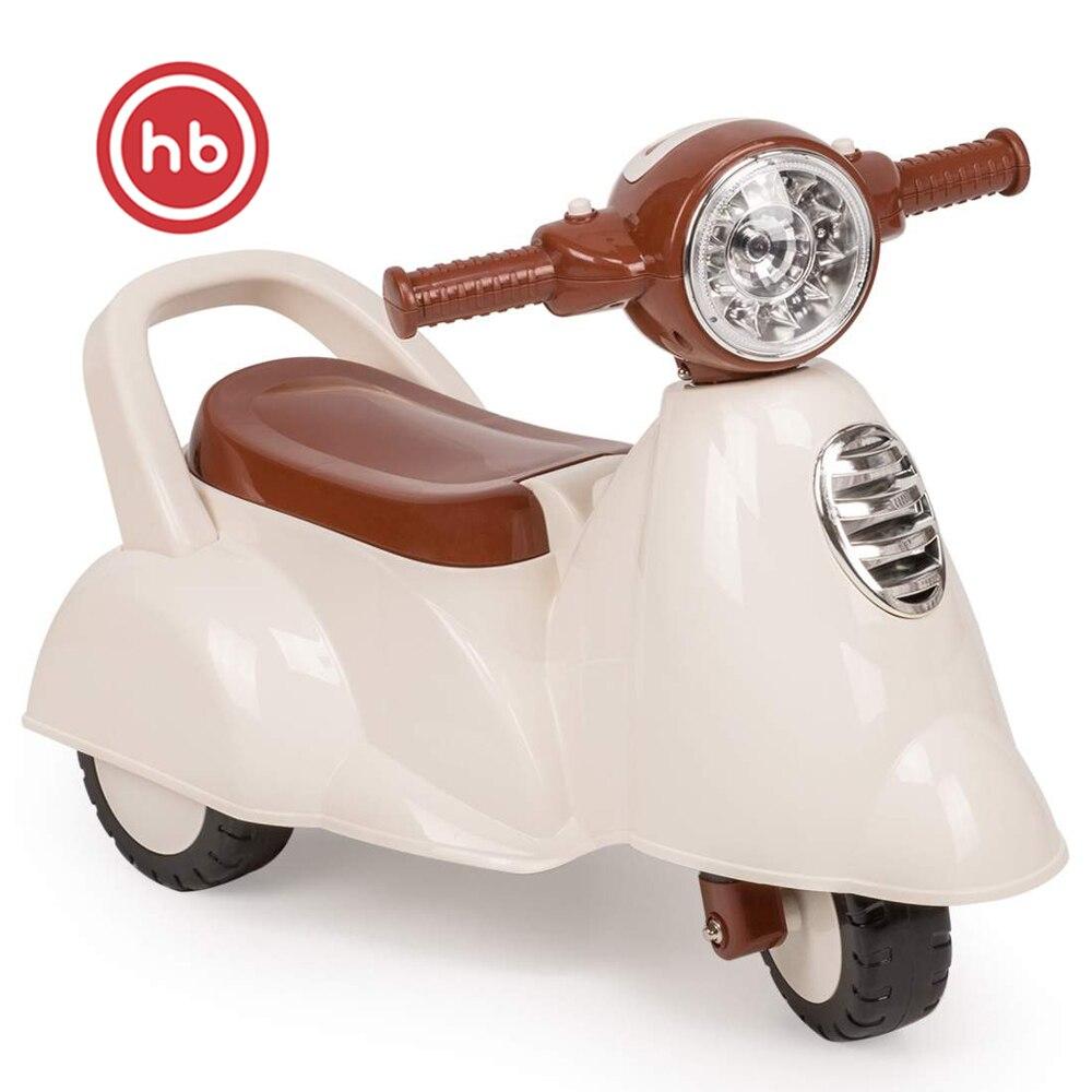 Diecasts & jouets véhicules Happy Baby 50014 moto-gurney voiture apprendre à marcher pour les garçons et les filles pour les enfants moto métal - 2