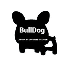 1/10 pçs bulldog silicone bebê mordedor bpa livre cão recém-nascido chupeta contas de corrente acessórios infantil dentição chuveiro brinquedos