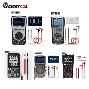 MUSTOOL Oscilloscope MDS8207 MT99 Multimeter-Current-Voltage Digital MT109 Handheld 2-In-1