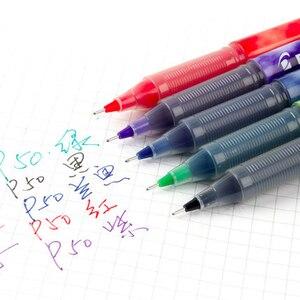 Image 3 - 12 pcs Pilot Pens Set Pilot Precise P 500 Gel Ink Rolling Ball Pens 0.5 mm Roller Extra Fine Point Black Color Ink