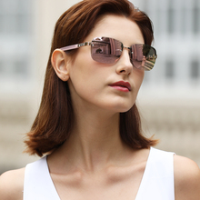 2020 New European and American Fashion Sunglasses Women's Casual Sunshade Sunscr