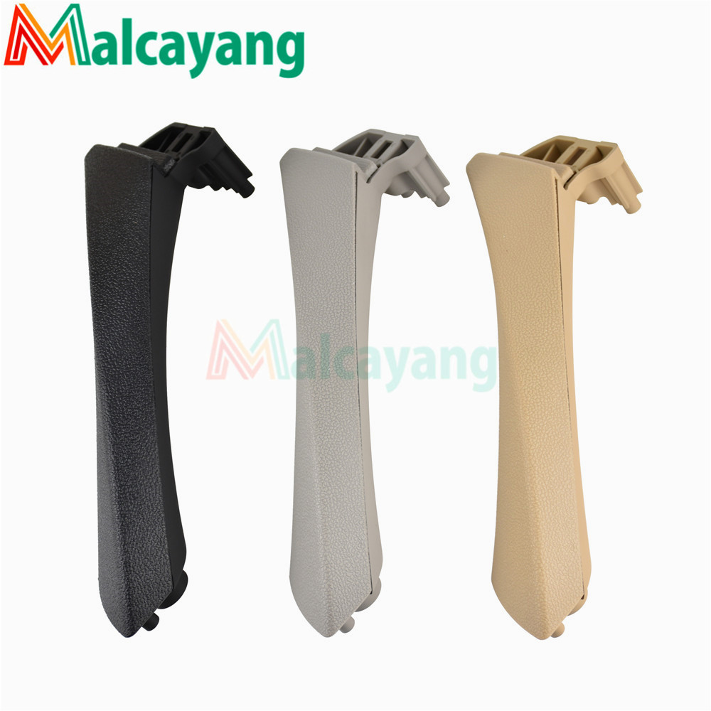 Car Styling Interior Door Handles Pull Trim Cover Gray Beige Black left Right For BMW 3 series E90 E91 316 318 320 325 328 image