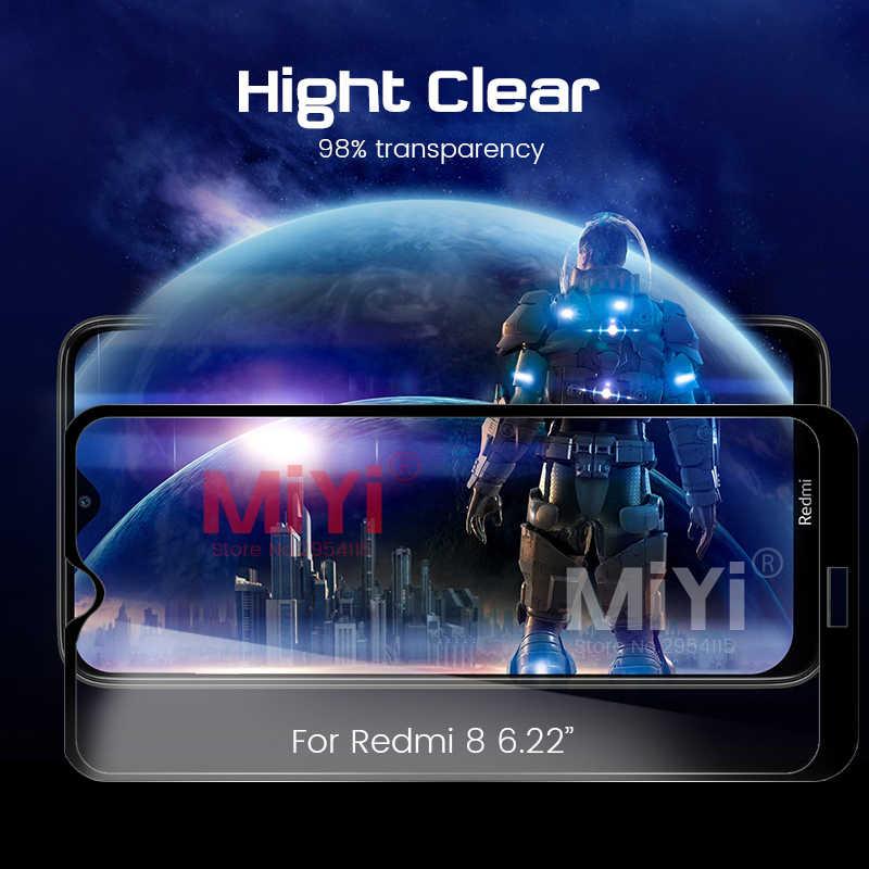 9h verre de protection pour xiaomi redmi 8 verre protecteur d'écran lunettes sur le xio mi rouge mi 8 xao mi xia mi redmi 8 film de sécurité couverture