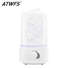 ATWFS بالموجات فوق الصوتية الهواء المرطب زيت طبيعي ناشر رائحة غرفة المنزل الناشر الروائح ضباب صانع مبيد