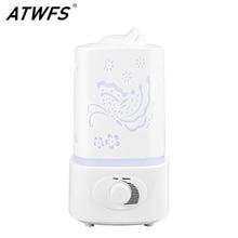 Atwfs umidificador de ar ultra sônico difusor aroma óleo essencial sala casa aromaterapia névoa criador fogger