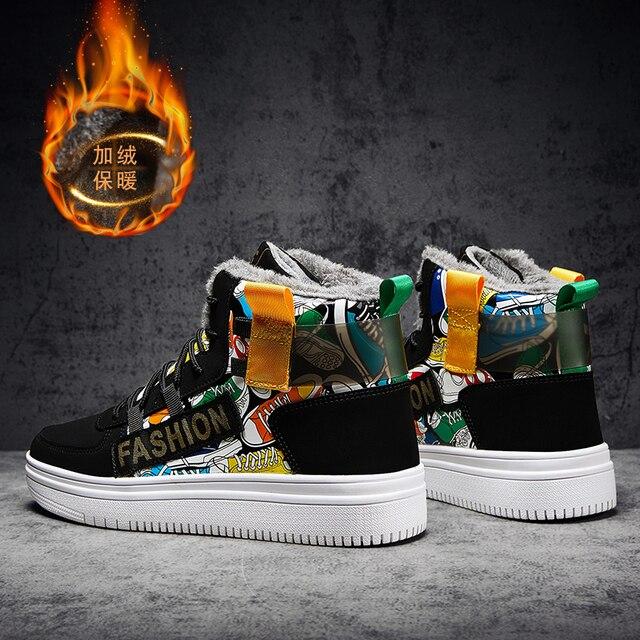 Fires-Zapatillas deportivas de malla para Hombre, calzado deportivo para correr al aire libre, para invierno 5