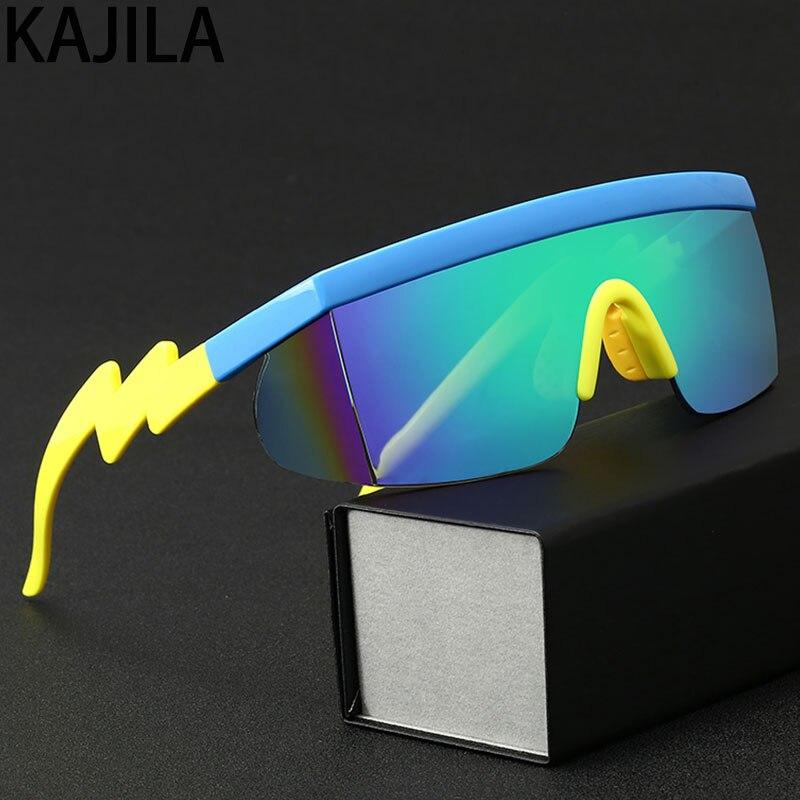 Sunglasses Sport Men Outdoor Irregular Large Frame Brand Eyewear Rectangle Oversized SunGlasses For Women Shades Zonnebril Heren