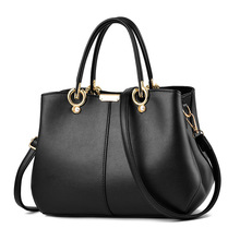 PU Leather Ladies Luxury HandBags Women Messenger Bags Bag For Women 2019 Totes Designer Crossbody Shoulder Bag Solid Hand Bags fashion leather ladies handbags women messenger bags totes designer crossbody shoulder bag female boston hand bags