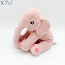 Xini 1 шт 20 см милый детский слон плюшевая мягкая игрушка кукла