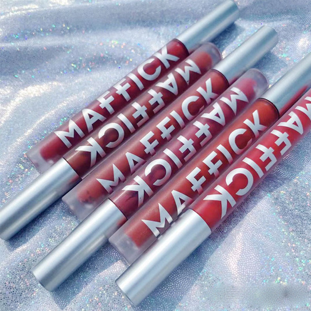 Liquid Lipstick Matte Long Lasting Waterproof Makeup Lips Red Velvet Nude Lip Gloss Make Up Cosmetics Matte Lipsticks Lip Tint 5