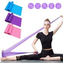 Аксессуары для йоги коррекции фигуры эластичная лента дома тренировок