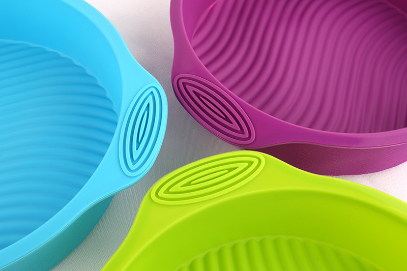 High-Quality §D Silicone Round Baking Tray Cake Tin 3