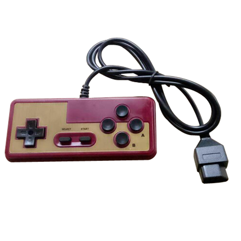 10pcs 7 Pin Game Controller for FC Console Games GAME PLAYER red and white machine special game handle