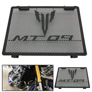 Black Stainless Steel MT09 Radiator Grille Cover Guard Protector For Yamaha MT-09 FZ09 FZ-09 FZ 09 2014 -2017 2018 2019 2020