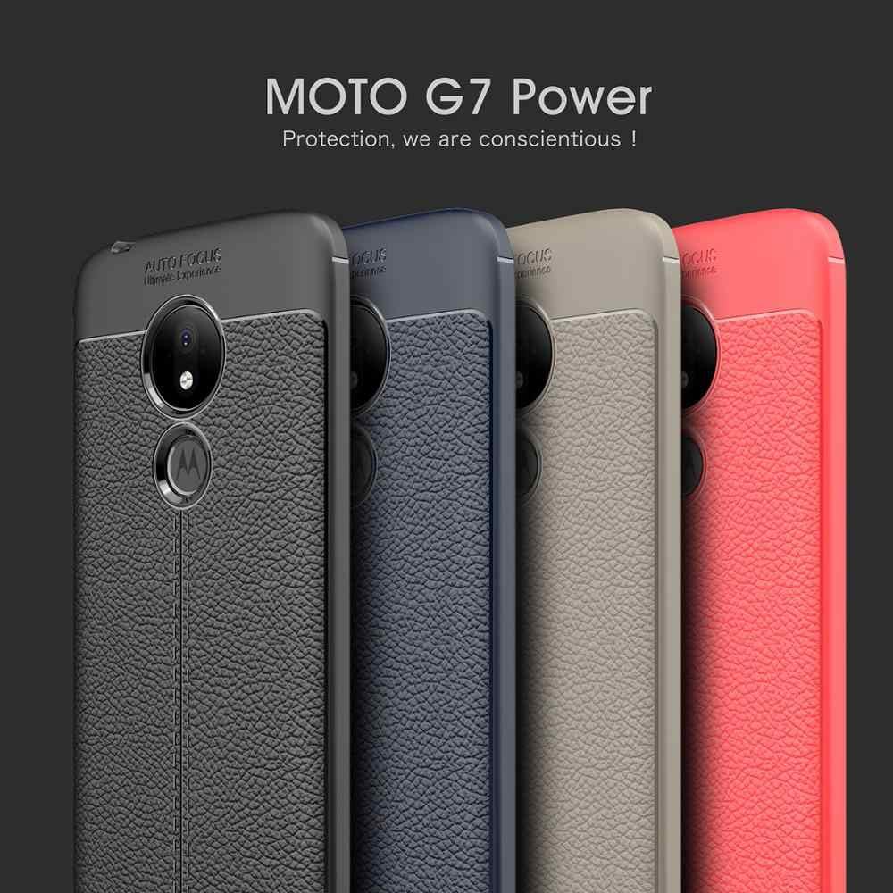 Cherie Bao Da Ốp Lưng Cho Motorola Moto G7 Điện TPU Mềm Dẻo Dành Cho Motorola Moto G7 G6 G5S G5 G4 E5 e4 Plus Z4 Z3 Z2 E5 G7 G6 Chơi