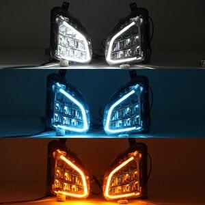 Image 5 - led Fog lights drl for Chevrolet Equinox 2018 2019 2020 fog light headlights daytime running light fog lamps foglights headlight