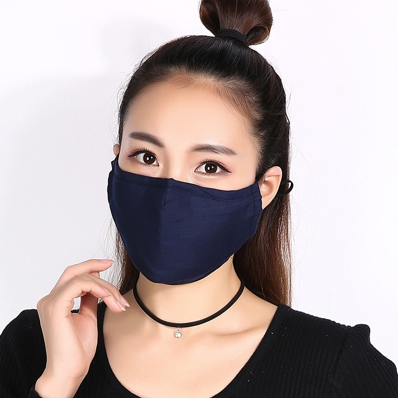 Haf62fe69805541b69069ed309af89501e 1pcs Reusable Washable Breathable Face Mask Cycling Running Facemask Anti Dust Windproof Air Purifying Face Mask +2 Filter