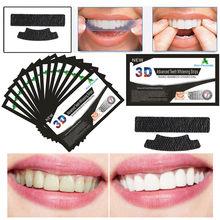 3dblack dentes profissionais ferramentas de cuidados orais limpo fresco respiração carvão de bambu branqueamento remendo adesivos tira mintwhitening tira