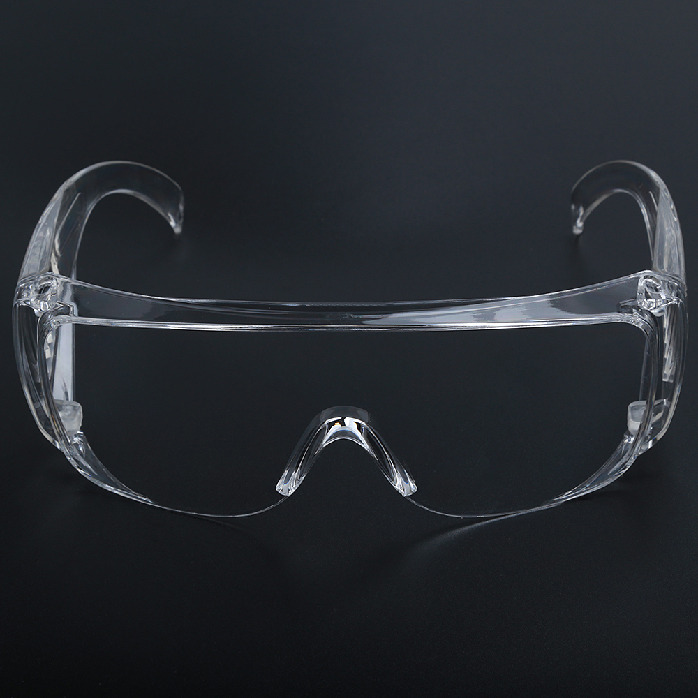 Jiepolly Safety Goggles Transparent Dust-Proof Spittle Prevention Eyewears Medical Protective Glasses Eyewear Goggles JP937
