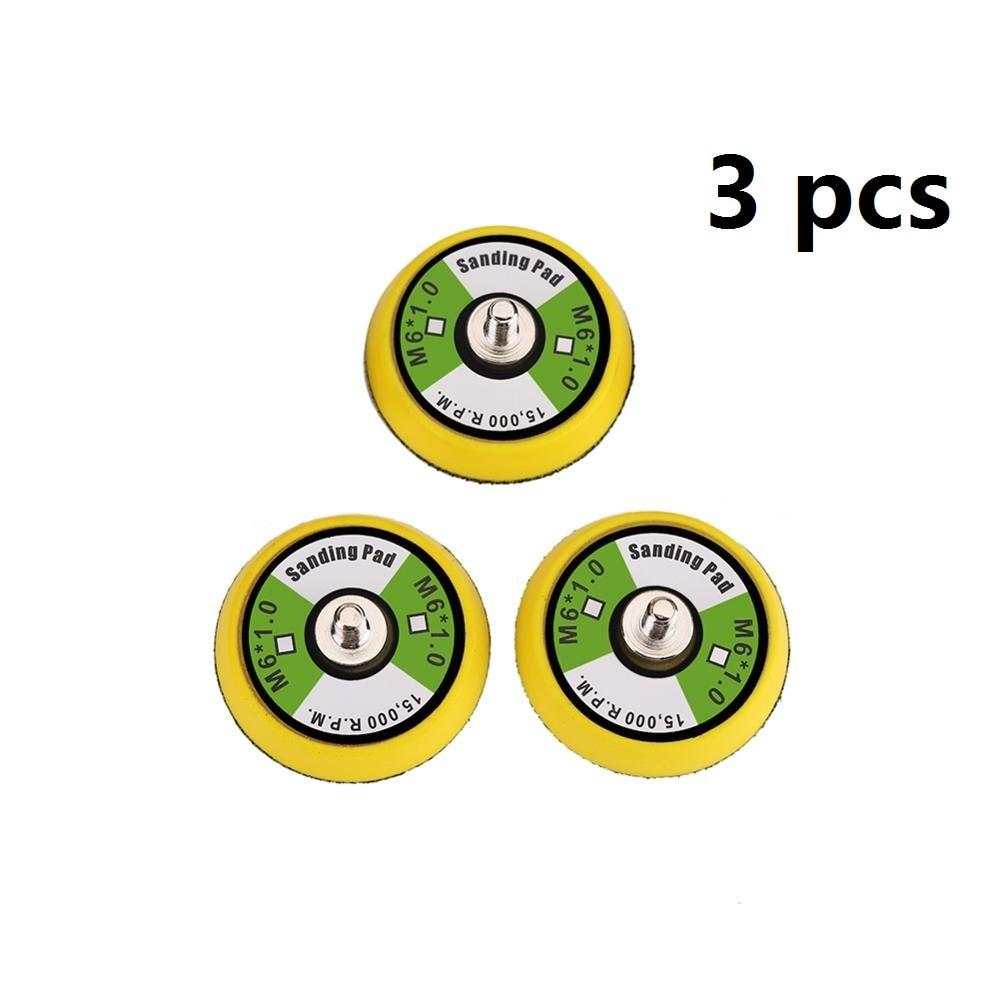 VALIANTOIN 3Pcs 2 Inch Hook Backing Plate 1/4