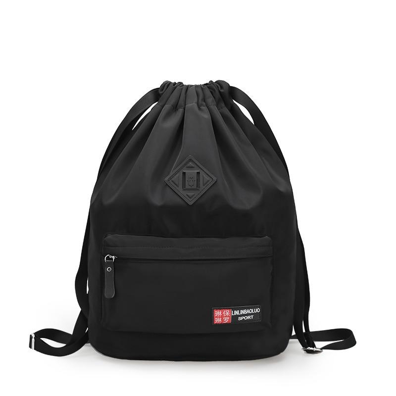 A Basketball Bag Soccer Package Backpack Bag Beam Basketball Customizable Drawstring Training Waterproof Outdoor Sports