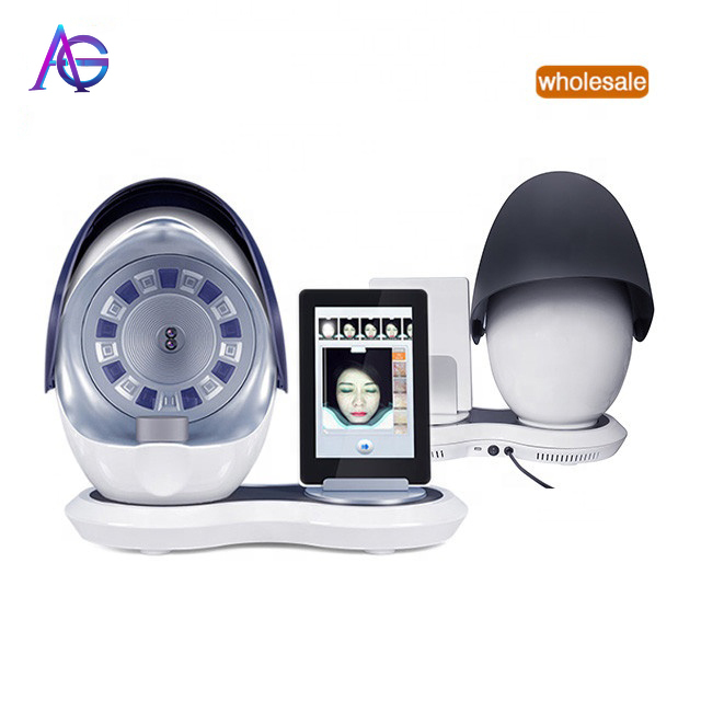 Adg  3D Facial Skin Analyser Machine Magic Mirror Tester Test For Beauty Salon Use