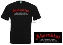 Camiseta sangue ancestral alemão viking paganismo ateu 541-0-