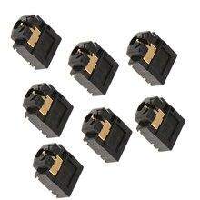 Controlador de xbox one, headset de 3.5mm, entrada de áudio, soquete 7 pçs/set