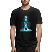 100% cotton The 6th Book Of Magic print casual mens o-neck t shirts fashion Mens Short Sleeve T-shirt