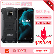 IP68 Waterproof DOOGEE S68 Pro Rugged Phone Wirele