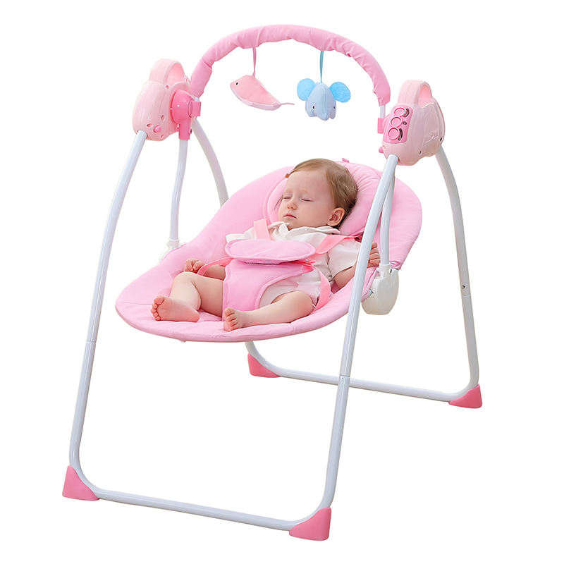 Intelligent Electric Baby Swing Cradle Remote Control
