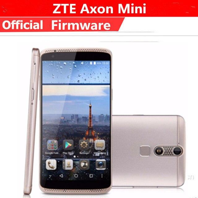"Téléphone portable dorigine ZTE Axon Mini 4G LTE Snapdragon 616 Android 5.1 5.2 ""IPS 1920X1080 3GB RAM 32GB ROM 13.0MP empreinte digitale"