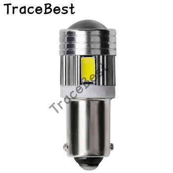 4Pieces BA9S T4W T11 233 363 Super bright 6 SMD 5630 5730 LED Car parking light reading Interior Lamps motor Bulbs 12V youen ba9s 6smd 5630 led canbus lamps error free t4w car led bulbs interior lights car light source parking 12v white 8000k