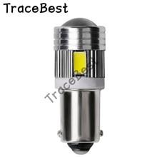 4X BA9S Parking Light T4W T11 233 363 Super bright 6 SMD 5630 5730 LED Motor Led Car Bulbs Car Reading Interior Lamps 12V White