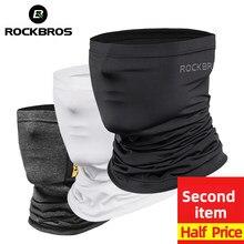 ROCKBROS-bufanda de equitación para ciclismo, pañuelo para la cara, protección solar, para el cuello, Verano