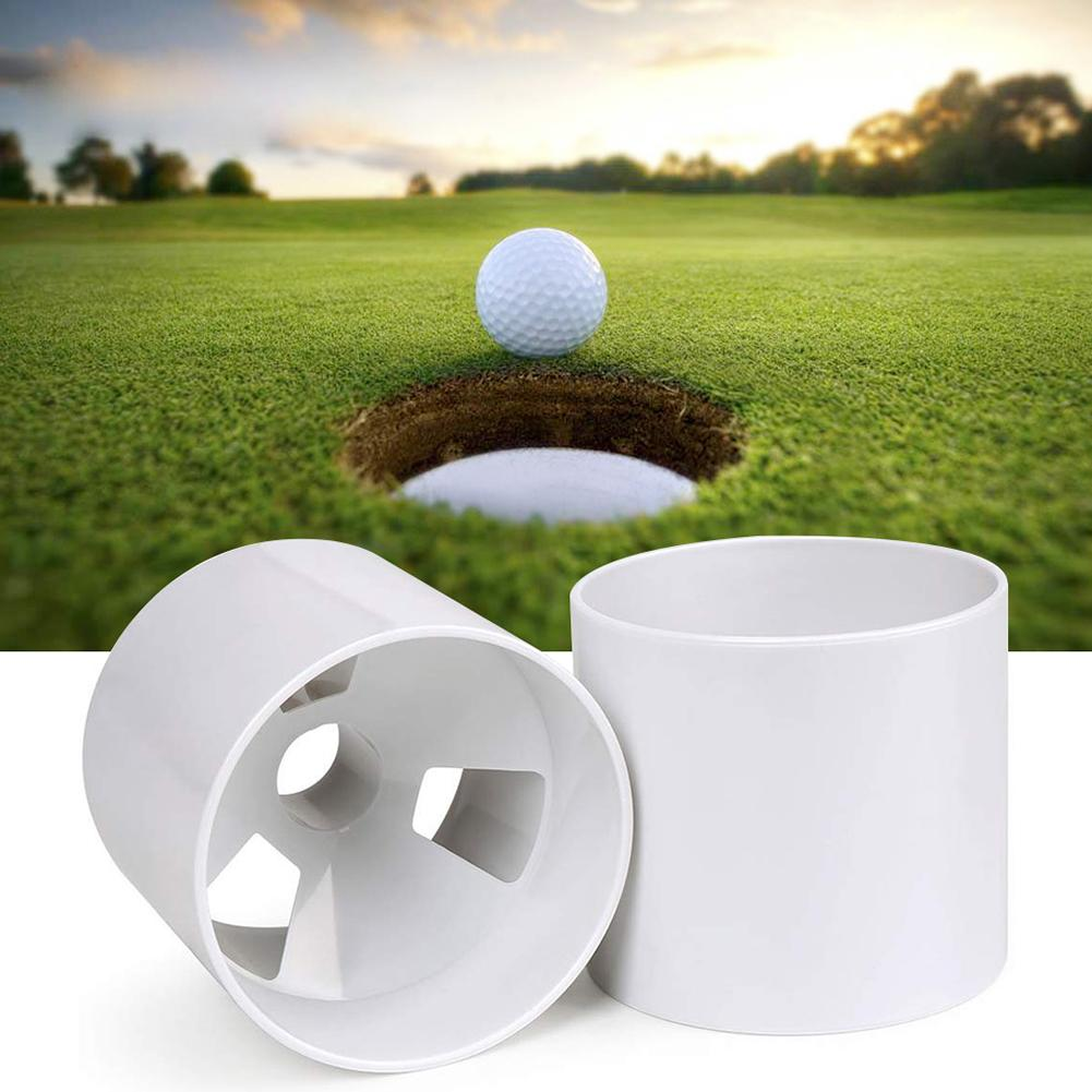 Professional ABS Putting Green Golf Hole Cup Holder Training Aids Accessories Putting Green Golf Hole Cup Holder Training Holder