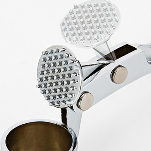 2019 Stainless Steel Garlic Press Crusher Squeezer Masher Home Kitchen Mincer Tool kitchen Accessories drop shipping