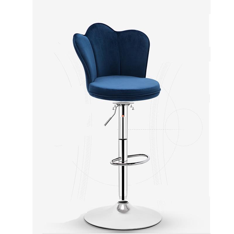 Bar Chair Lift High Stool Seat Table Home Modern Minimalist Front Desk Sillas Poltrona Sedie Sgabello Stuhl Banquetas Barstool
