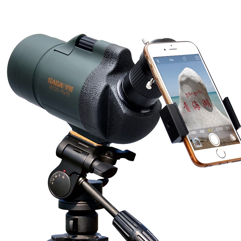 profissional spotting scope mc25 75x70 zoom telescopio monocular de alta potencia a prova dtelagua telescop caca