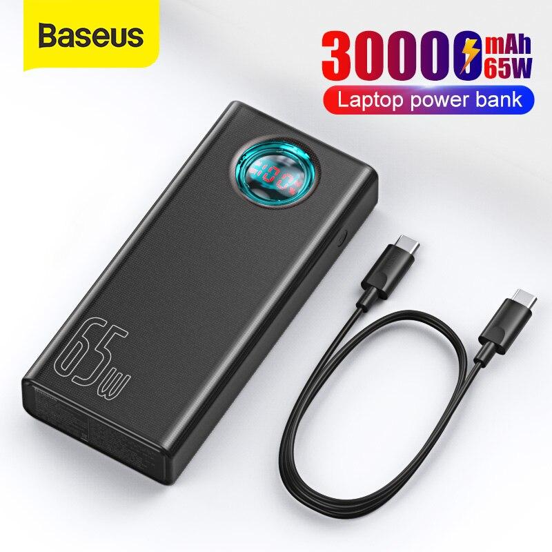 Baseus Power Bank 30000mAh 65W za $38.99 / ~144zł